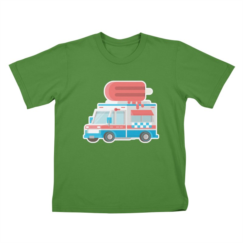Le Truck Kids T-shirt by awesombroso's Artist Shop