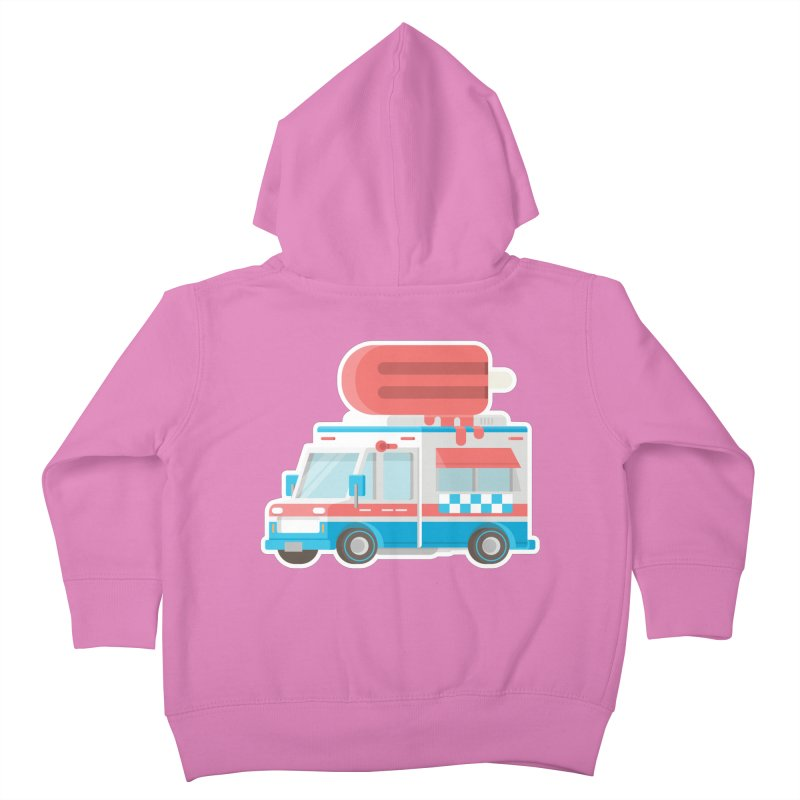 Le Truck Kids Toddler Zip-Up Hoody by awesombroso's Artist Shop