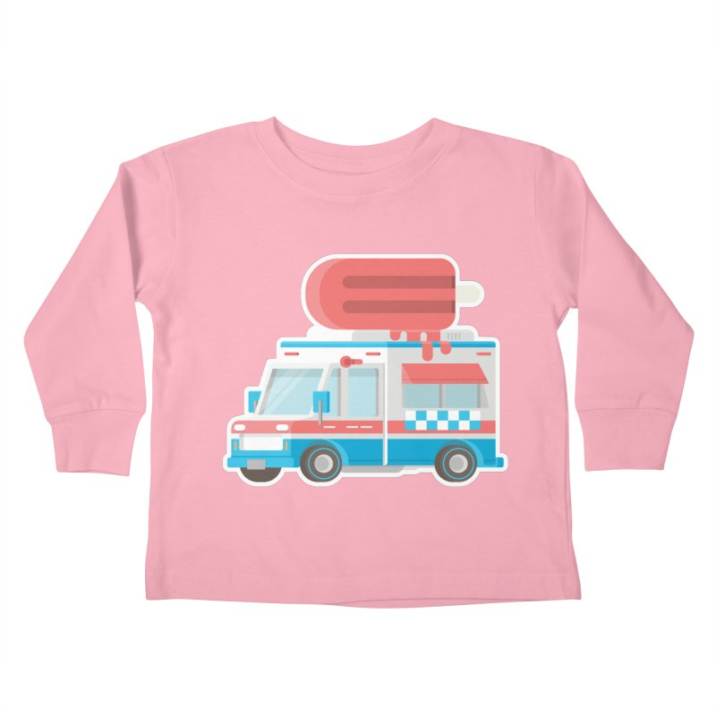 Le Truck Kids Toddler Longsleeve T-Shirt by awesombroso's Artist Shop