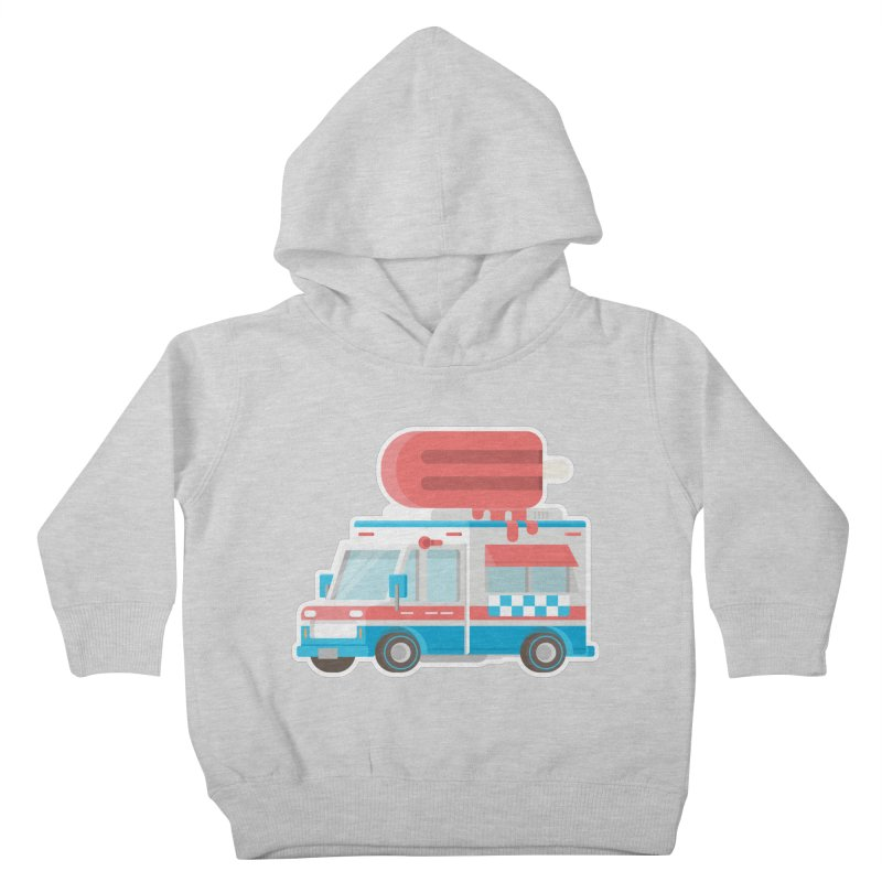 Le Truck Kids Toddler Pullover Hoody by awesombroso's Artist Shop