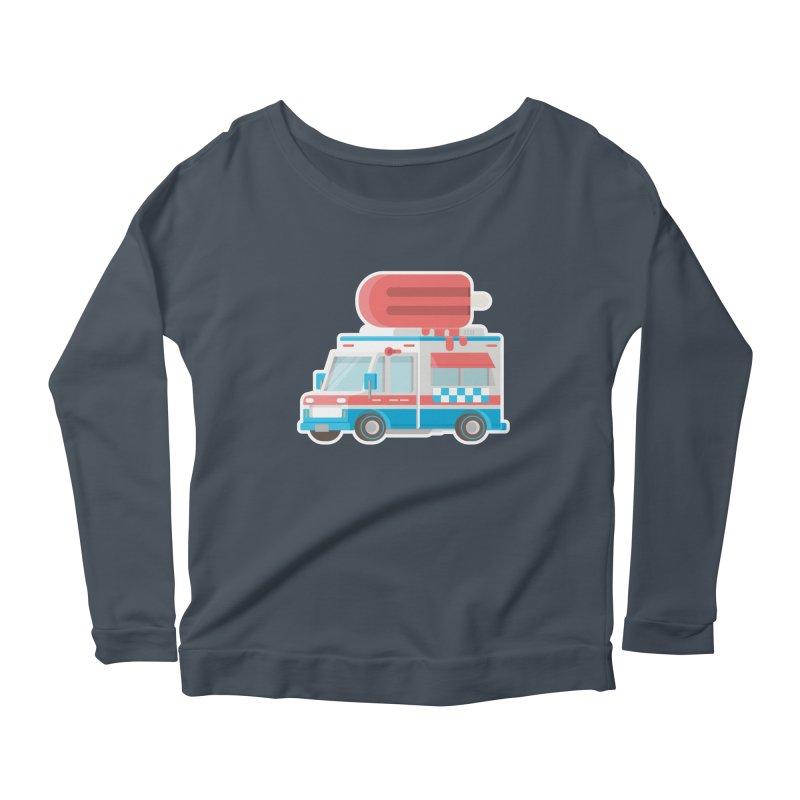 Le Truck Women's Longsleeve Scoopneck  by awesombroso's Artist Shop