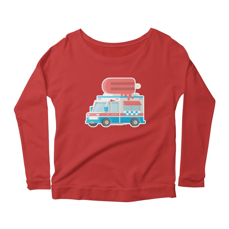 Le Truck Women's Longsleeve Scoopneck  by awesombroso's Artist Shop