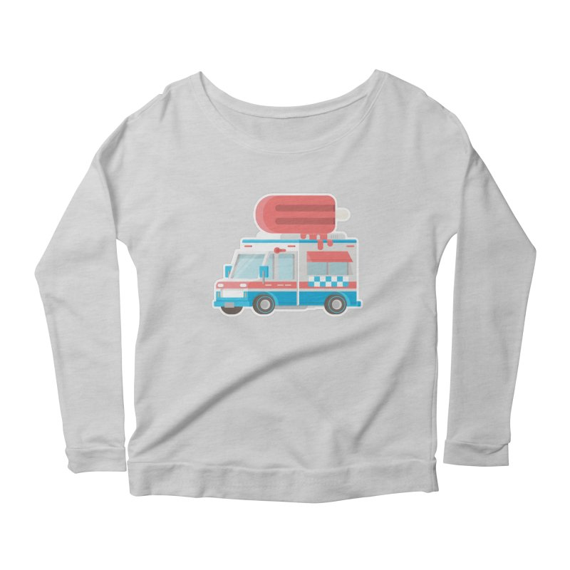 Le Truck Women's Scoop Neck Longsleeve T-Shirt by awesombroso's Artist Shop