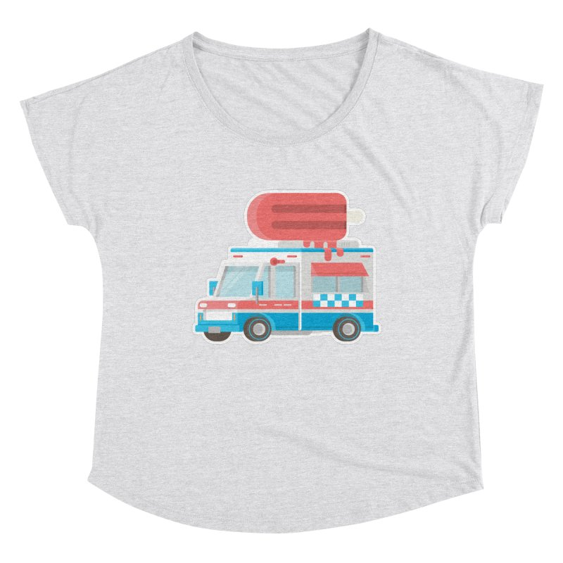 Le Truck Women's Dolman Scoop Neck by awesombroso's Artist Shop