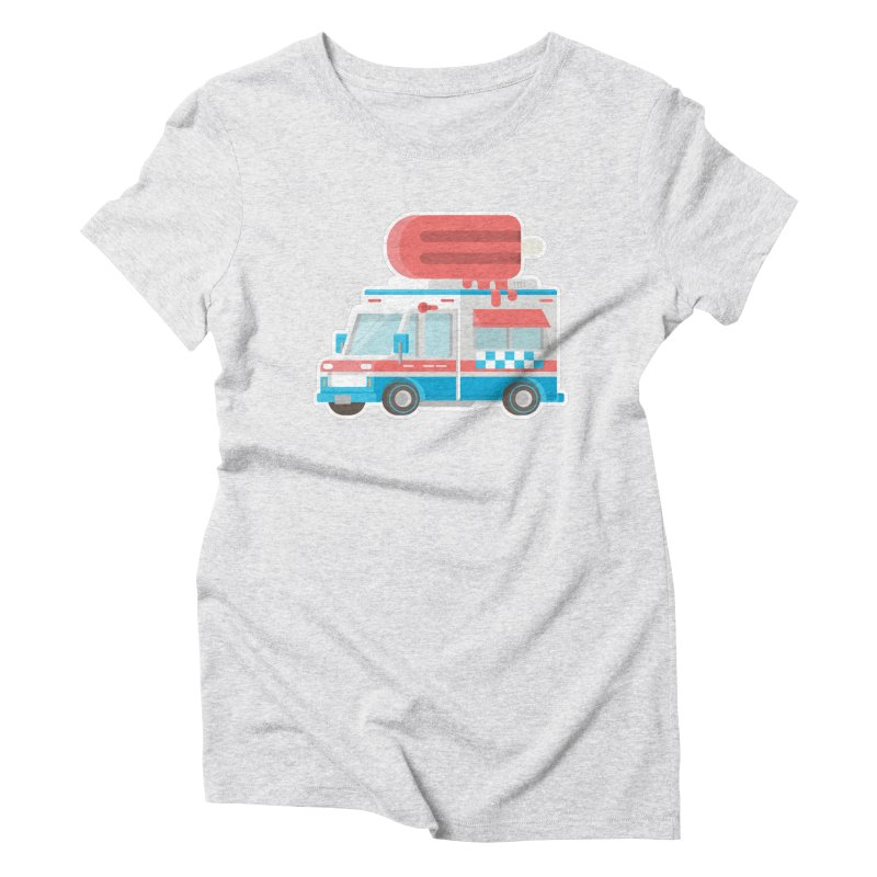 Le Truck Women's Triblend T-shirt by awesombroso's Artist Shop
