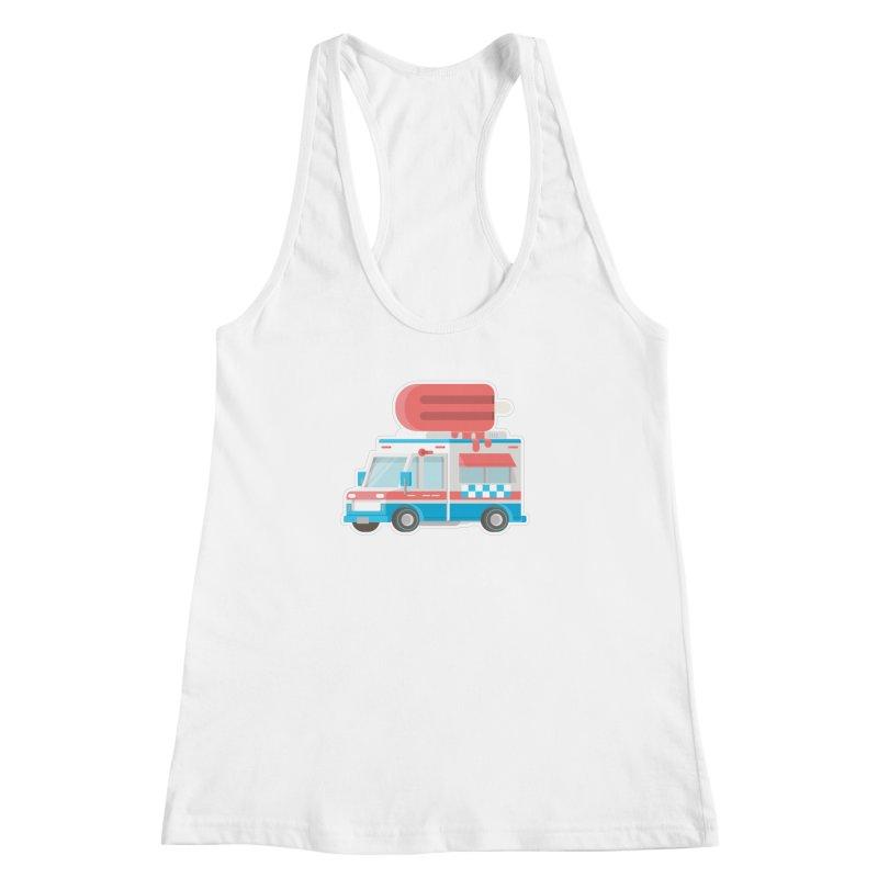Le Truck Women's Racerback Tank by awesombroso's Artist Shop