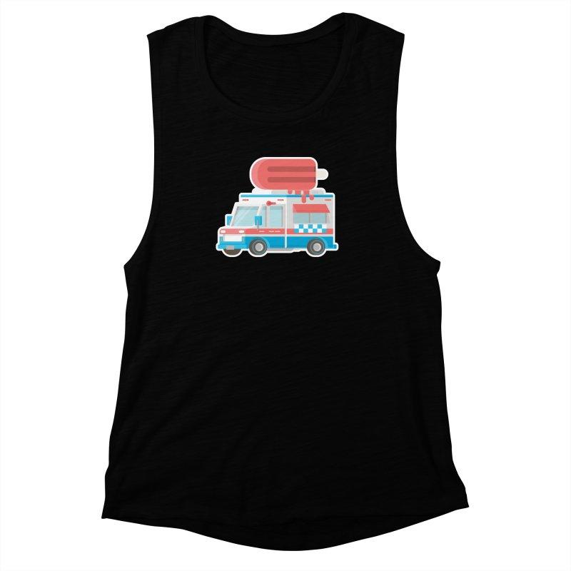 Le Truck Women's Muscle Tank by awesombroso's Artist Shop