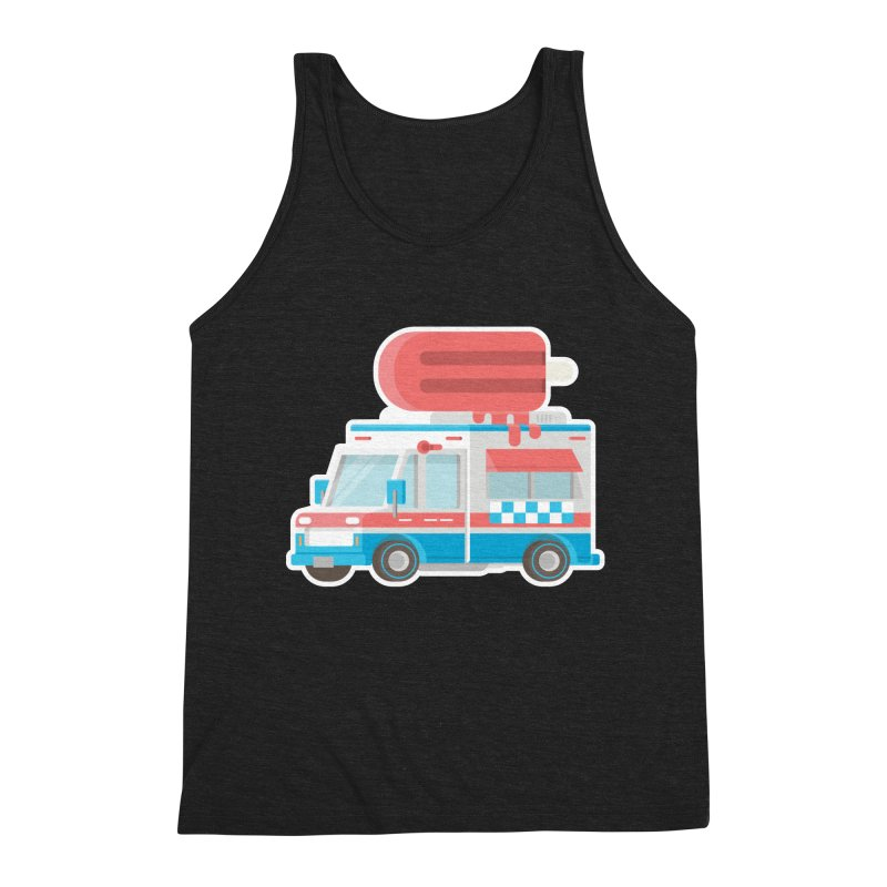 Le Truck Men's Triblend Tank by awesombroso's Artist Shop