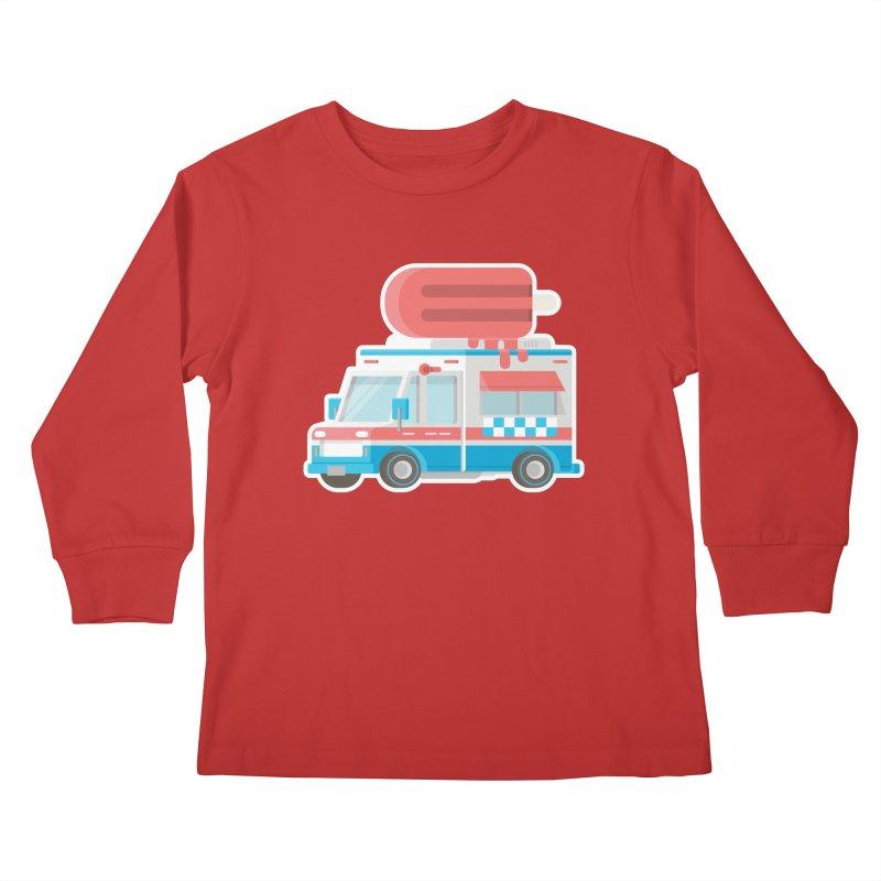 Le Truck Kids Longsleeve T-Shirt by awesombroso's Artist Shop