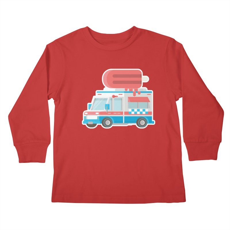 Le Truck Kids Longsleeve T-Shirt by awesombroso's Artist Shop