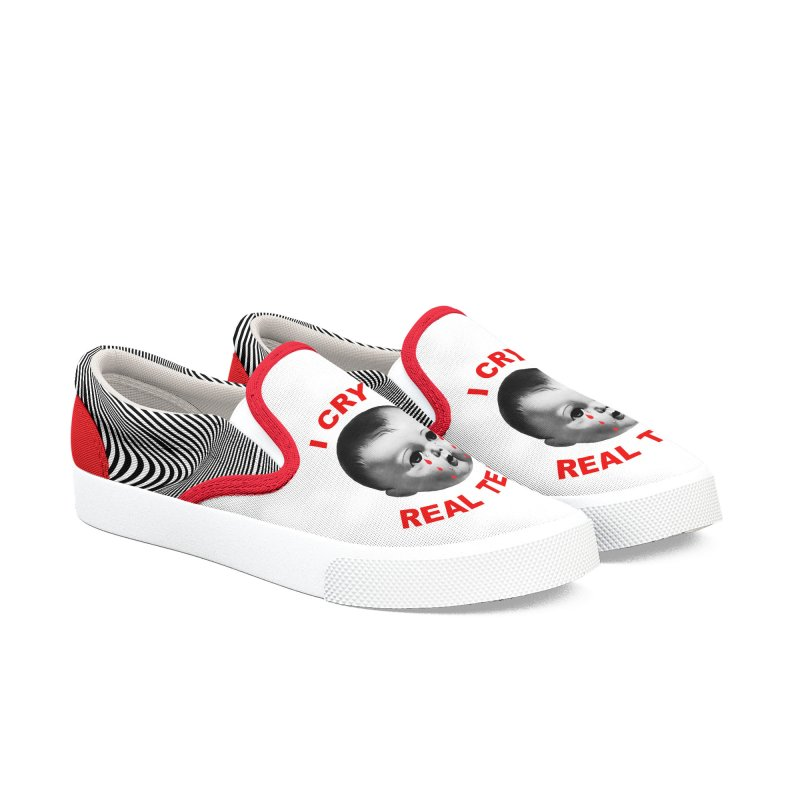 I Cry Real Tears Women's Shoes by Victory Screech Labs