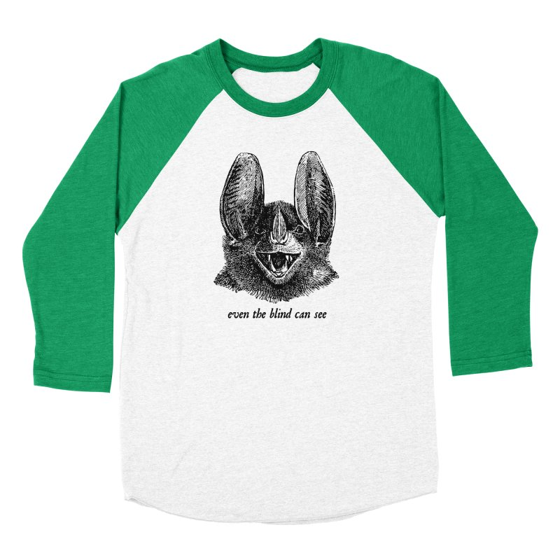 Even the Blind Can See Men's Longsleeve T-Shirt by Victory Screech Labs