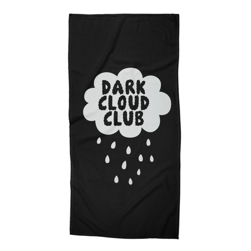 Dark Cloud Club V2 Accessories Beach Towel by Victory Screech Labs