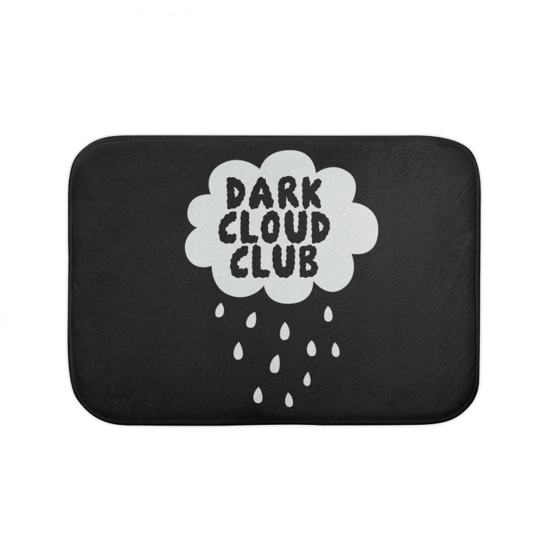 Dark Cloud Club V2 Home Bath Mat by Victory Screech Labs