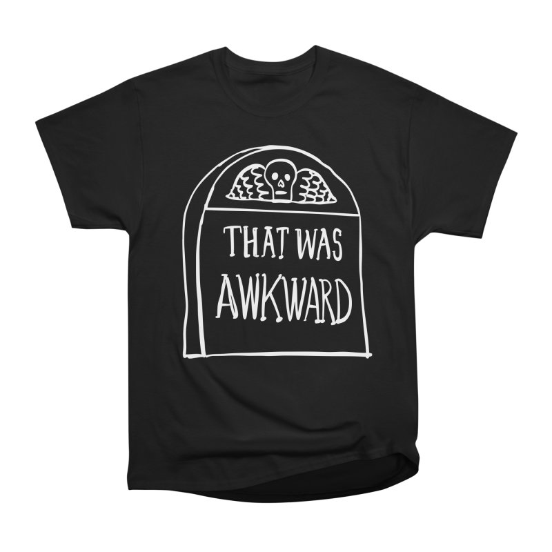 That Was Awkward V2 Men's T-Shirt by Victory Screech Labs