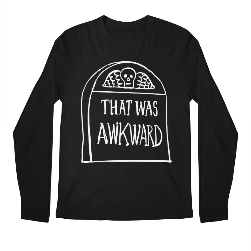 That Was Awkward V2 Men's Longsleeve T-Shirt by Victory Screech Labs