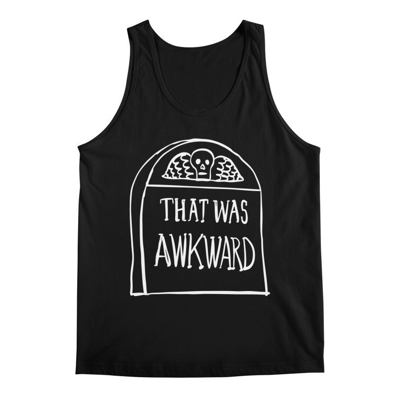 That Was Awkward V2 Men's Tank by Victory Screech Labs