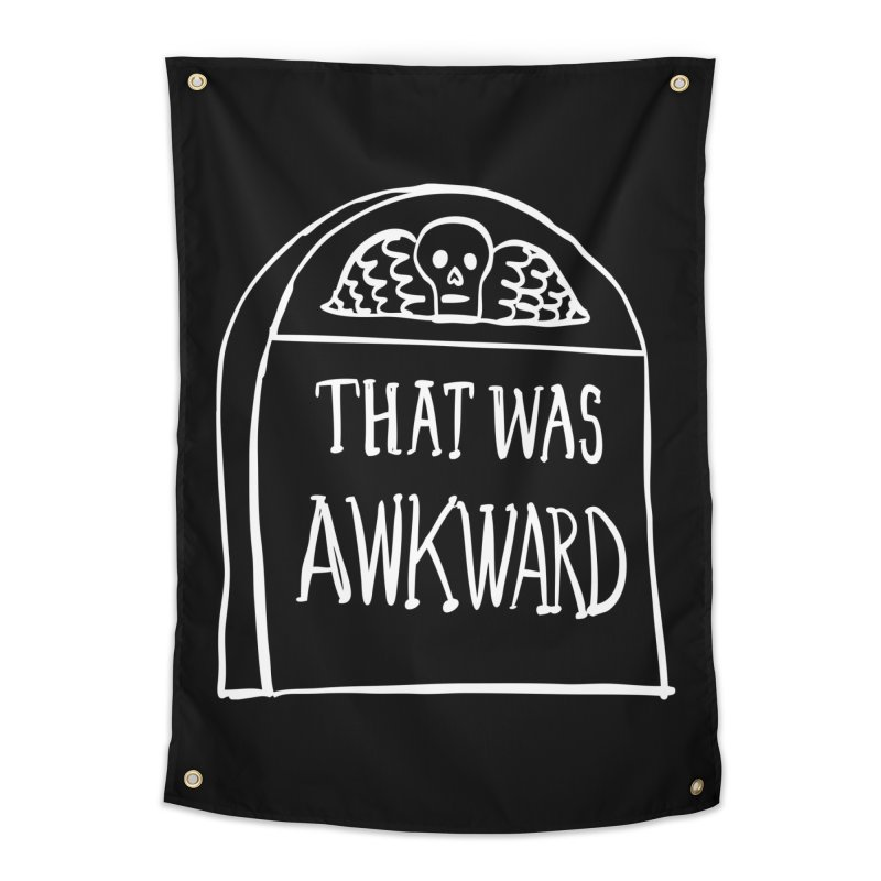 That Was Awkward V2 Home Tapestry by Victory Screech Labs