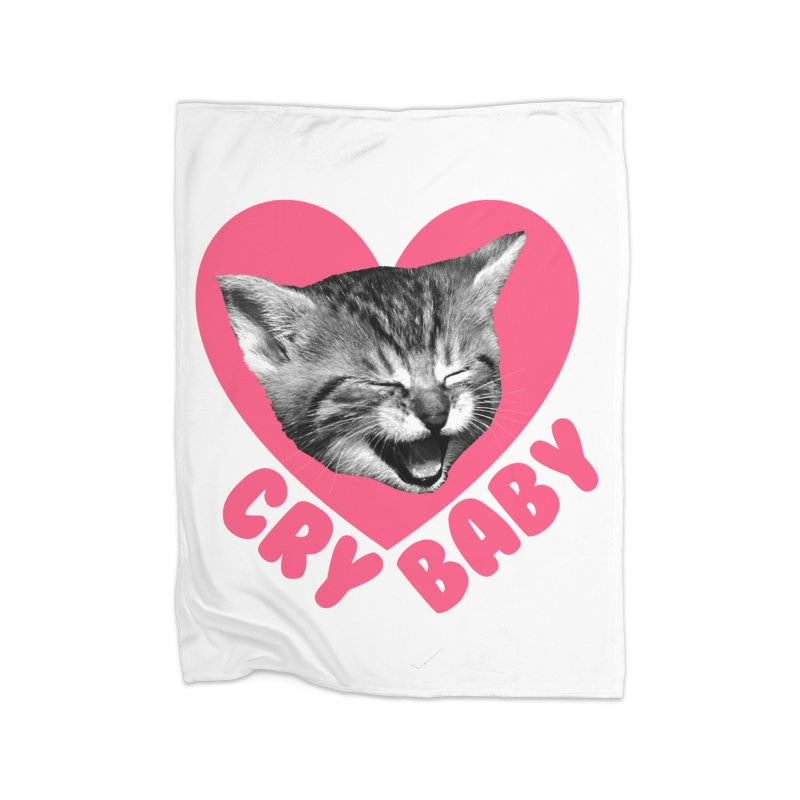 Cry Baby Home Blanket by Victory Screech Labs