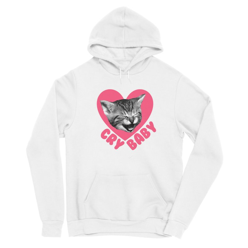 Cry Baby Men's Pullover Hoody by Victory Screech Labs