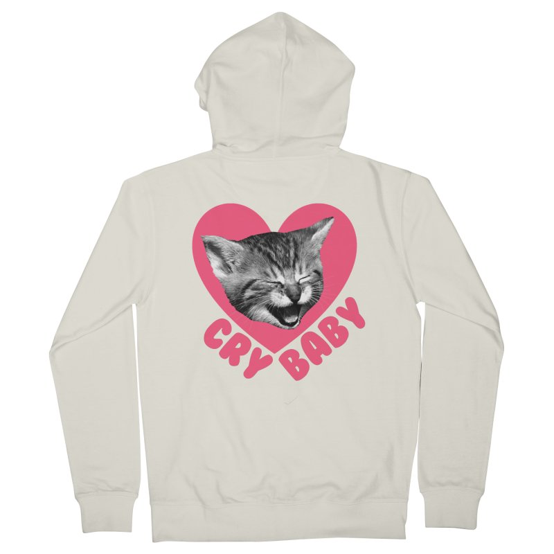Cry Baby Women's Zip-Up Hoody by Victory Screech Labs