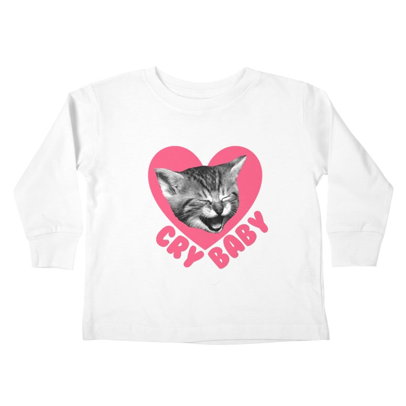Cry Baby Kids Toddler Longsleeve T-Shirt by Victory Screech Labs