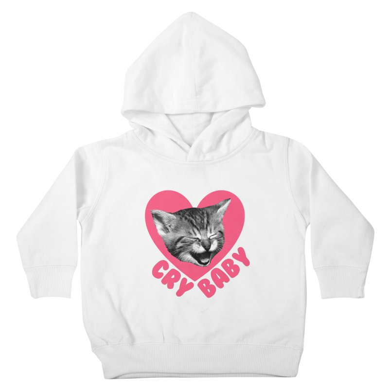 Cry Baby Kids Toddler Pullover Hoody by Victory Screech Labs
