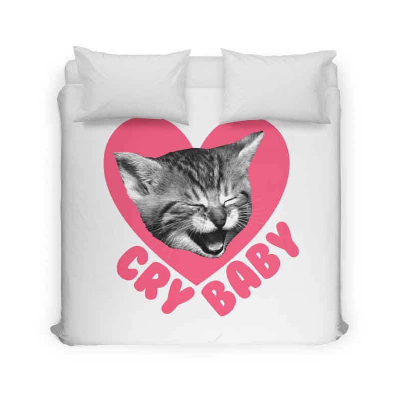 Cry Baby Home Duvet by Victory Screech Labs