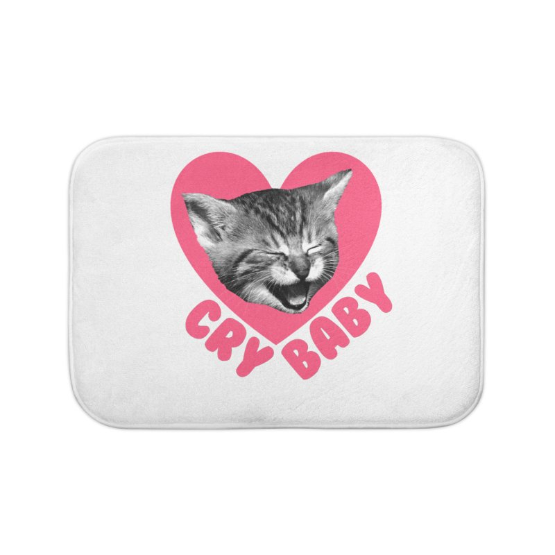 Cry Baby Home Bath Mat by Victory Screech Labs