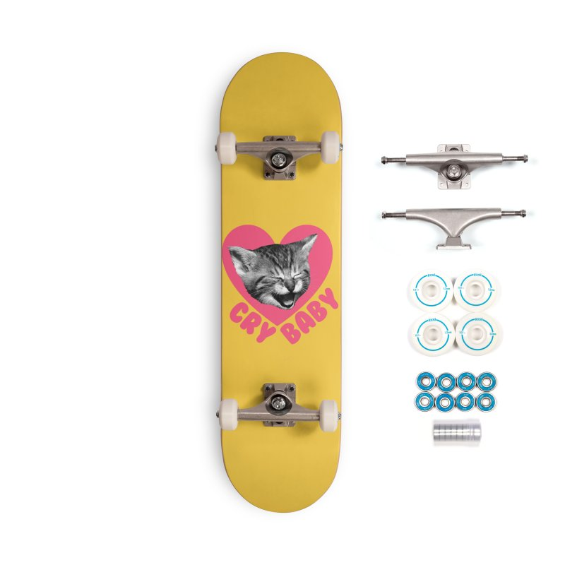 Cry Baby Accessories Skateboard by Victory Screech Labs