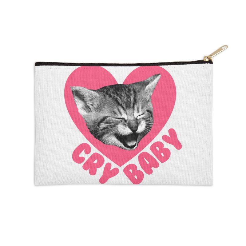 Cry Baby Accessories Zip Pouch by Victory Screech Labs