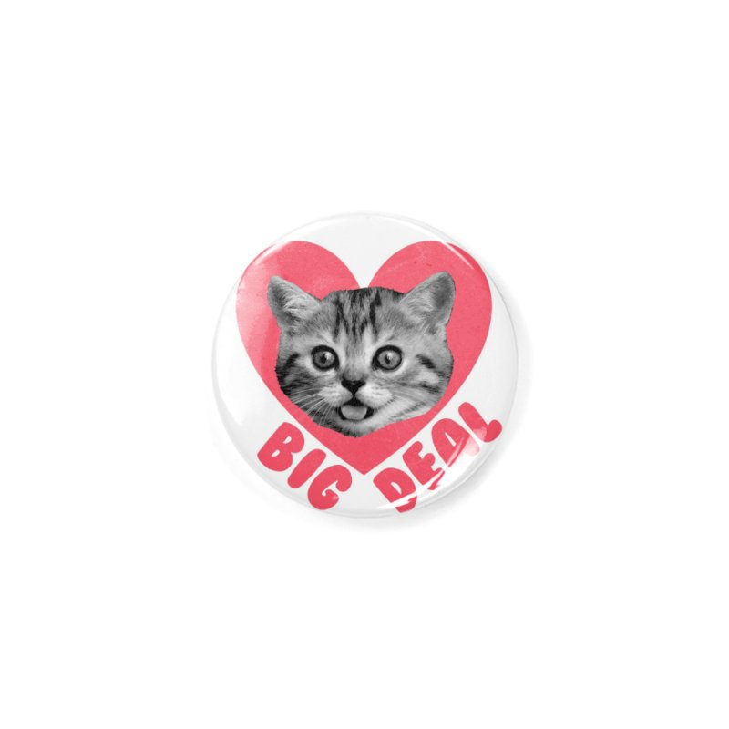 Big Deal Accessories Button by Victory Screech Labs