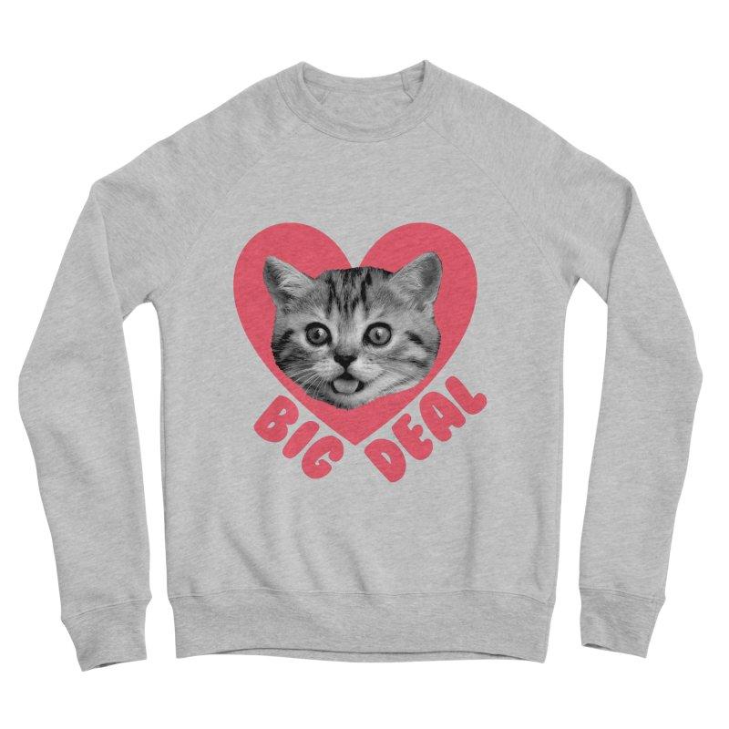Big Deal Men's Sweatshirt by Victory Screech Labs