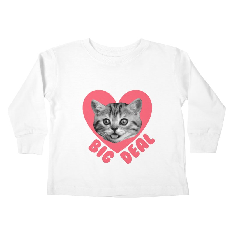 Big Deal Kids Toddler Longsleeve T-Shirt by Victory Screech Labs