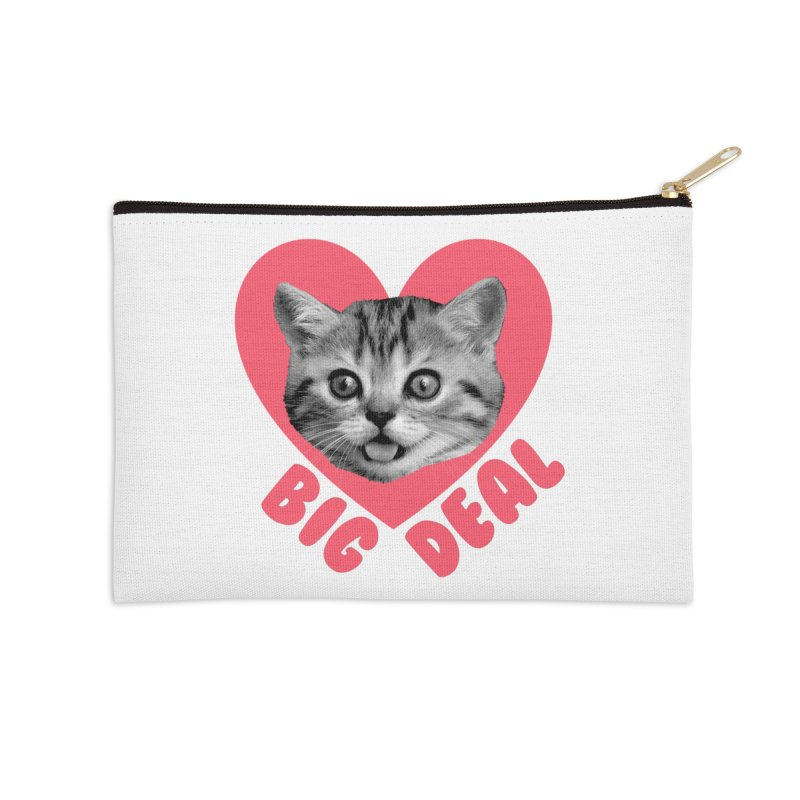 Big Deal Accessories Zip Pouch by Victory Screech Labs