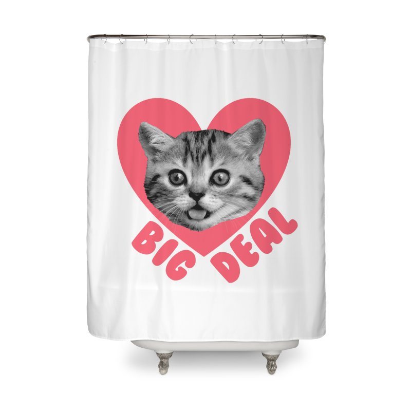 Big Deal Home Shower Curtain by Victory Screech Labs