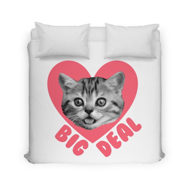 Big Deal Home Duvet by Victory Screech Labs