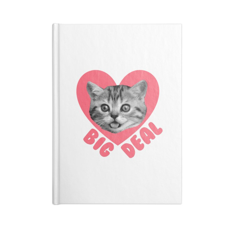 Big Deal Accessories Notebook by Victory Screech Labs