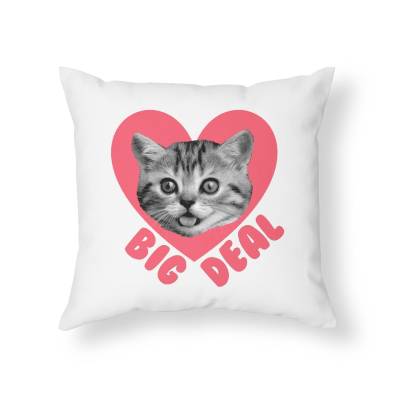 Big Deal Home Throw Pillow by Victory Screech Labs