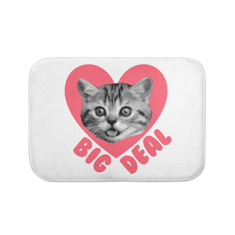 Big Deal Home Bath Mat by Victory Screech Labs