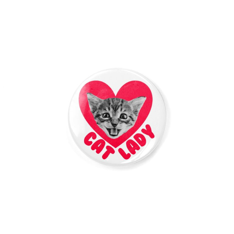 Cat Lady Accessories Button by Victory Screech Labs