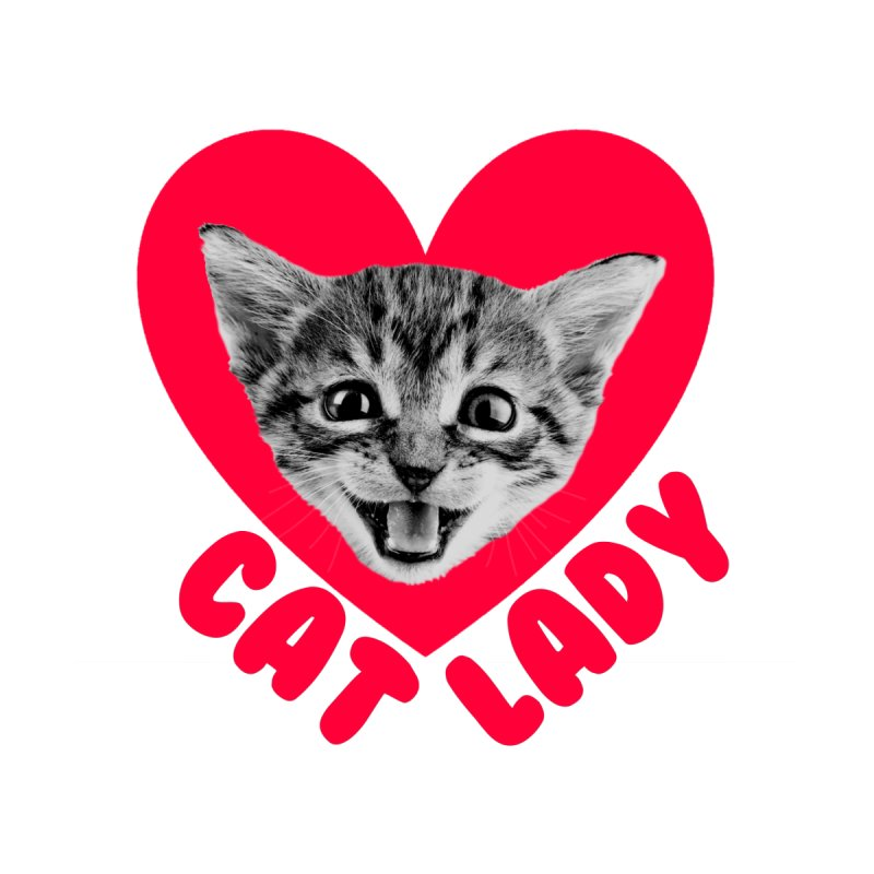 Cat Lady Men's Tank by Victory Screech Labs