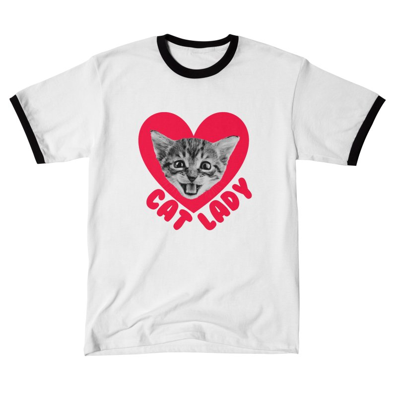 Cat Lady Men's T-Shirt by Victory Screech Labs