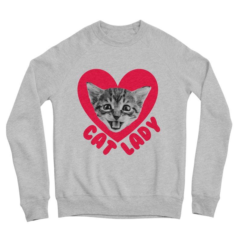 Cat Lady Men's Sweatshirt by Victory Screech Labs