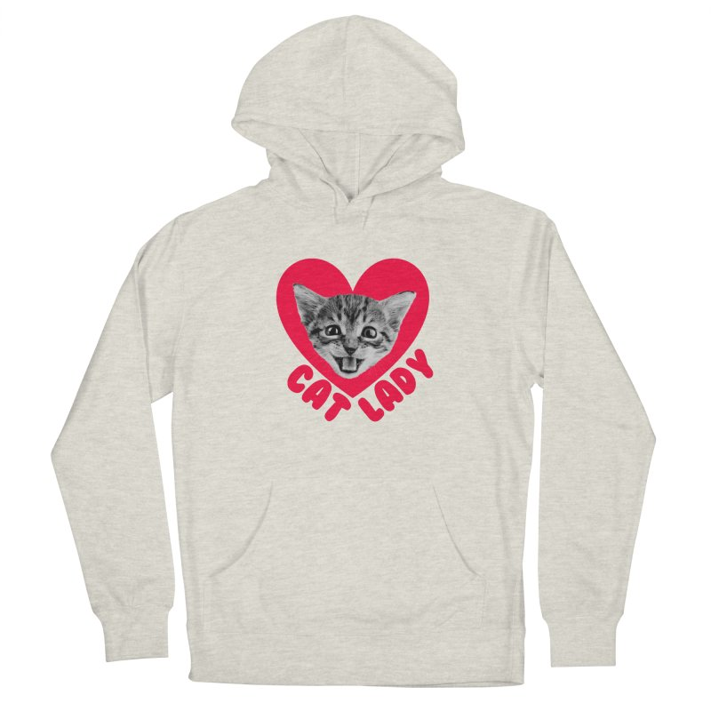 Cat Lady Men's Pullover Hoody by Victory Screech Labs