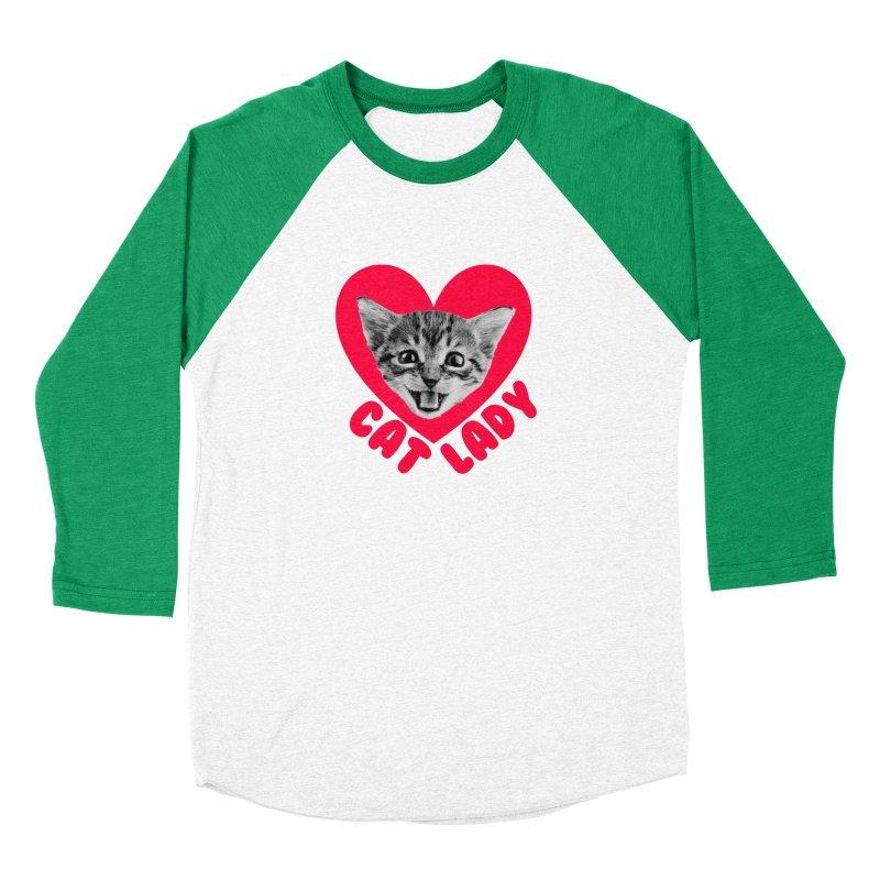 Cat Lady Men's Longsleeve T-Shirt by Victory Screech Labs