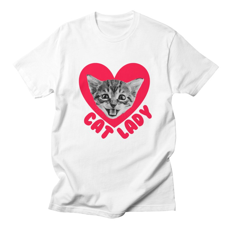 Cat Lady Women's T-Shirt by Victory Screech Labs