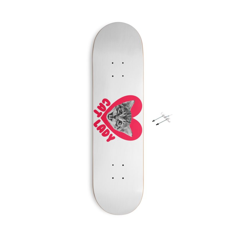 Cat Lady Accessories Skateboard by Victory Screech Labs