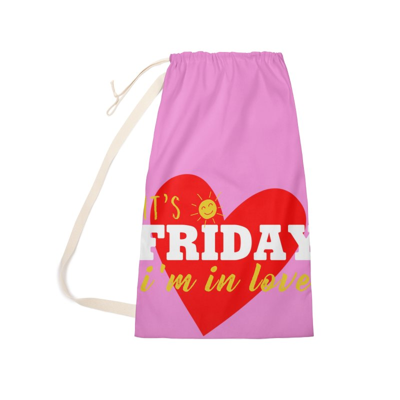 It's Friday, I'm in Love Accessories Bag by Victory Screech Labs