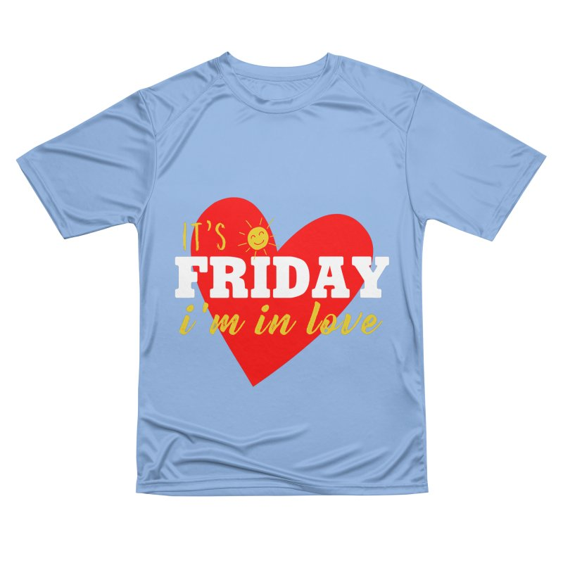 It's Friday, I'm in Love Men's T-Shirt by Victory Screech Labs